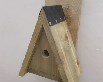 The 'Peaked' Bird Nesting Box - Henry's Bird Boxes, Handmade in Wales