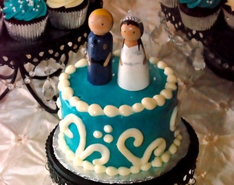 Police Officer Cake Topper - Fully Customizable--Navy, Coast Guard, Army, Air Force