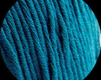 DeStash Yarn - Pima Cotton - Ocean Blue