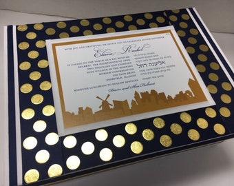Bar/ Bat Mitzvah - Special Birthday Keepsake Box