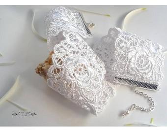Wedding Lace Choker, Choker Necklace, Bride's Necklace, Lace Necklace, White Lace Choker, White Lace Choker, Victorian Choker, Gift for her