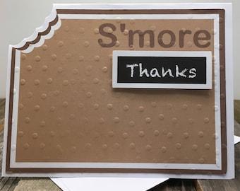 S'more Thank You Cards, S'more Cards, Thank You Cards, Set of Five Thank You Cards, Set of 5 Thank You Cards, Set of Thank You Cards, S'more