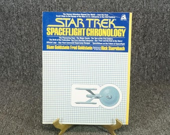 Star Trek Spaceflight Chronology C. 1980 Paperback