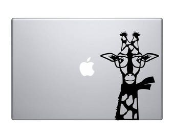Dog MacBook Sticker - Sticker for women -  Macbook Decals - Car Sticker - Laptop Decal - Dog Vinyl Sticker - Car Bumper Sticker