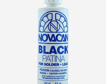 Novacan Black Patina for Solder and Lead