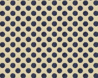 KRAVET LEE JOFA Kate Spade Dots Fabric 10 Yards Navy