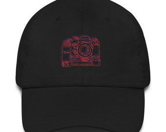 35MM Camera Lovers Dad hat