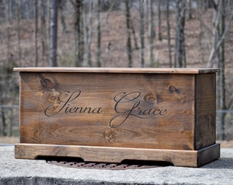 23x13x13 Toy Box - Personalized Kids Toy Box - Kids Toy Chest - Kids Toy Storage - Childrens Toy Box - Wood Chest - Wood Box - Toy Chest
