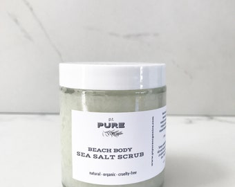 Beach Body Sea Salt Scrub