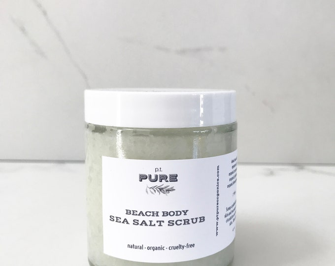 Featured listing image: Beach Body Sea Salt Scrub
