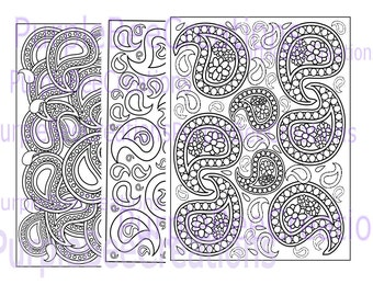 Adult Coloring Pages Paisley Coloring Pages