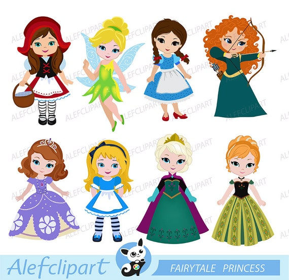 princess clipart cute princess digital clipart princess 3 princess rh etsystudio com princess clipart software princess clipart images