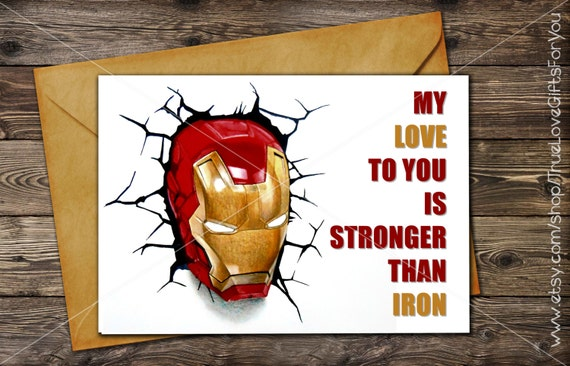 Iron man 3 birthday card printable greeting card instant iron man 3 birthday card printable greeting card instant download last minute gift bookmarktalkfo Images