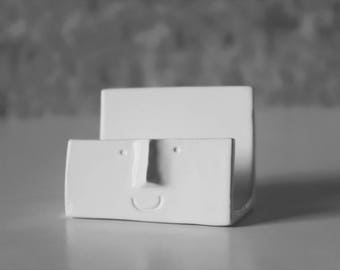 Funny Face Business Card Holder