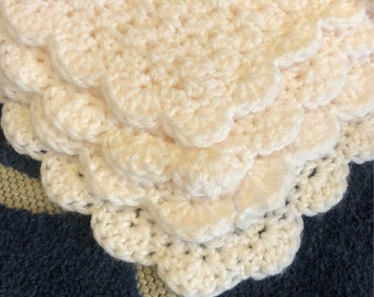 Baby White Sparkle Blanket