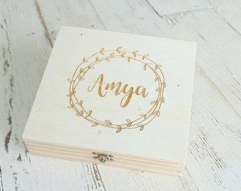 Bridesmaid Keepsake Box Wedding Keepsake Box