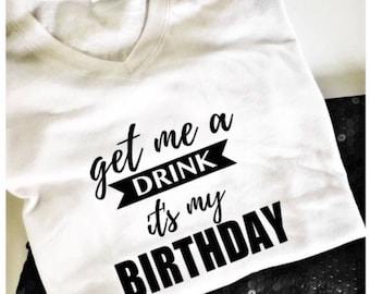 Happy Birthday T-shirt, Womens birthday shirt, special  birthday shirt, gift for her, graphic tees women