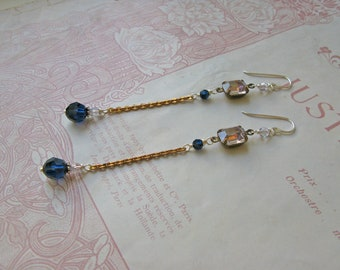Mitzi Indigo earrings