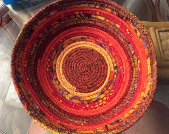 Fabric wrapped bowl