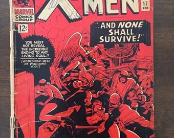 X-Men #17! Copie abordable! Petite merveille 1966
