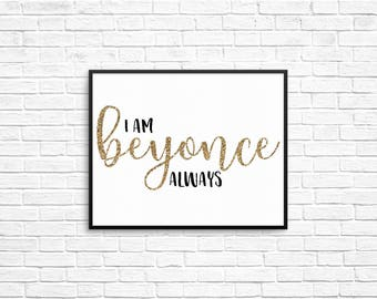 The Office Quote 8x10 Prints - I am Beyonce Always, That's What She Said, Bears Beets Battlestar Galactica, Wayne Gretzky, The Office Prints