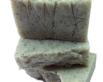 Flaxseed Soap - Unscented - Handmade Soap- Natural Soap