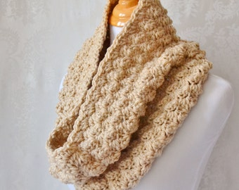 Crochet Cowl and Earwarmer