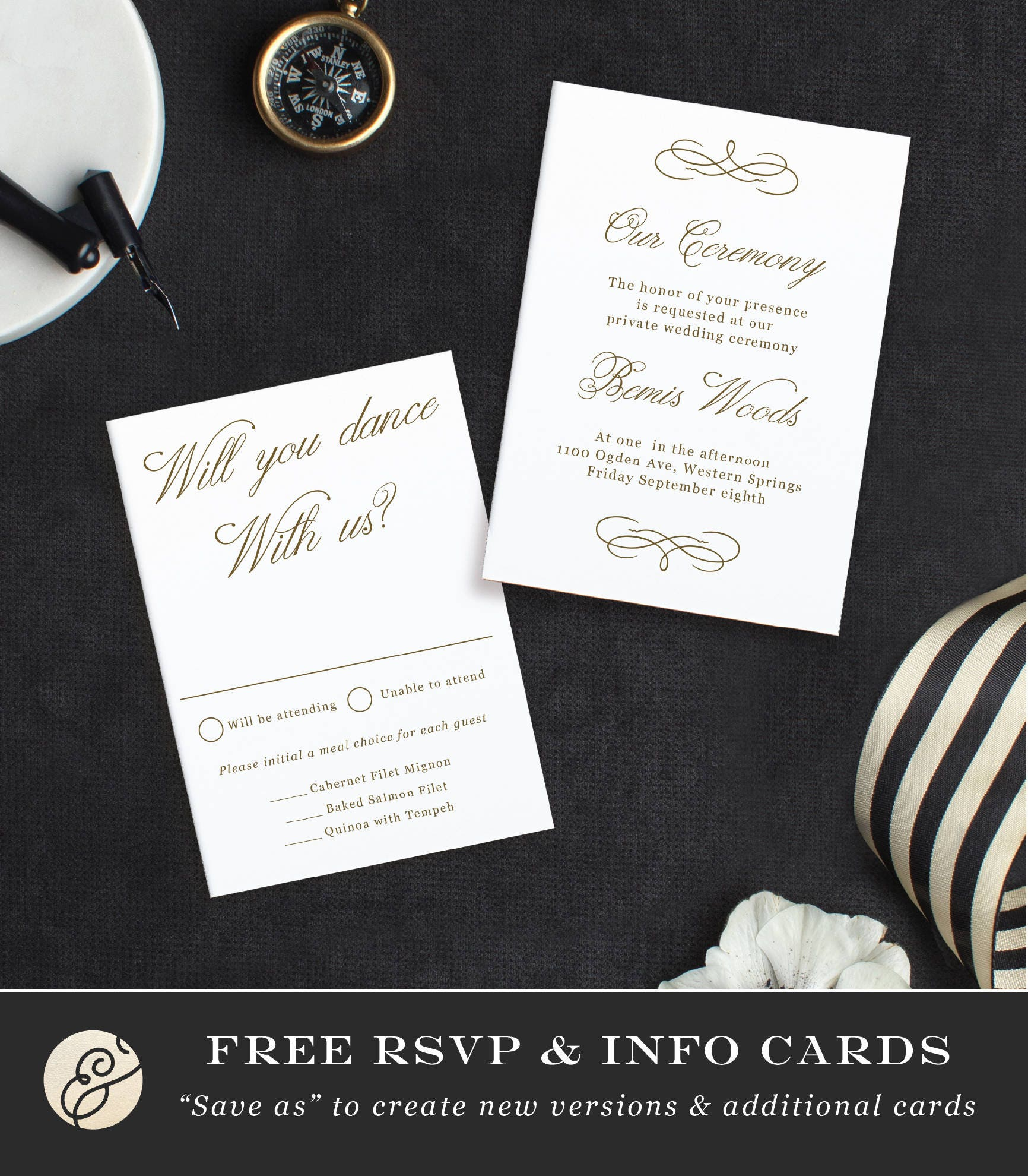 Printable template design your own wedding invitation template gallery photo gallery photo stopboris Image collections