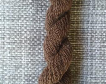 Earthy Brown Chunky Alpaca Yarn