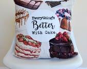 Cake Quote Decorative Cus...