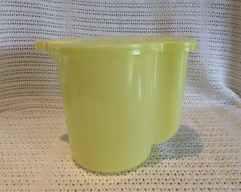 Tupperware Jug or Pitcher Yellow Circa 1970