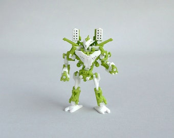 Neurobtoa: Unicorn. 3D printed articulated mini robot construction figure like never before