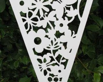 Floral Pennant Bunting