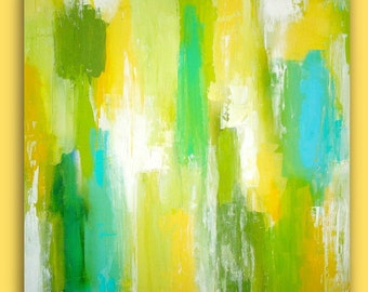Abstract Painting HOME DECOR Large FORMAT Art