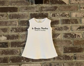 Gilmore Girls Baby Dress, Gilmore Girls In Omnia Paratus Baby Dress, Gilmore Girls Baby, Gilmore Girls Baby Shower Gift, In Omnia Paratus