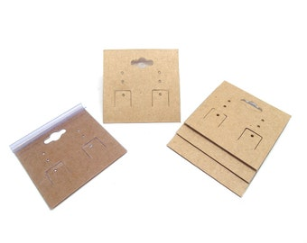 Earring Cards, Jewelry Display Cards, Jewelry Cards - Set of 24