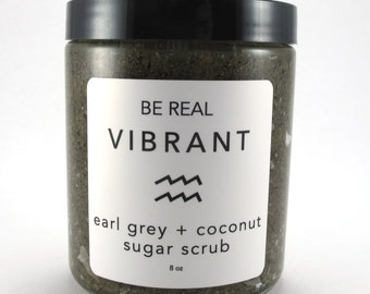 Earl Grey + Coconut Sugar Scrub