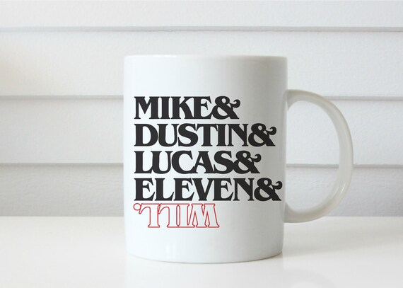 STRANGER THINGS mug eleven coffee mug stanger things show coffee mug coffee cup netflix gift gifts for him gifts for her