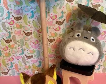 My Neighbor Totoro Cat Bus Plush Mini Cute Birthday Goodie Goody Bag Party Favor Kawaii Harajuku