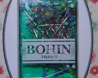 80 fine glass head - pins pins