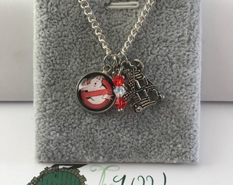 Handmade Ghostbusters Inspired Necklace
