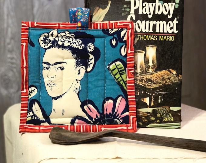 Frida Kahlo Quilted Pot Holders
