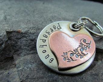 Pet ID Tag -  Pet Tag - Dog Tag - Dog Collar Tag - Custom Pet ID Tag - dog id tag - Pet Accessories - Personalized pet/dog tag -Engraved