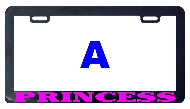 Prinzessin lustige Nummernschild Rahmen