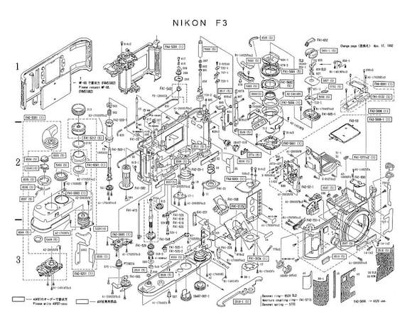 Nikon f3 slr f 35mm rangefinder camera poster art print like this item malvernweather Gallery