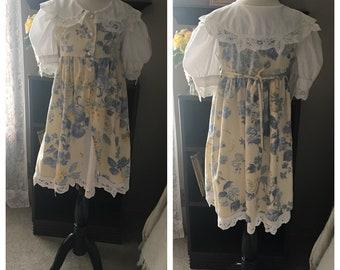 Vintage Special Occasion Dress by Jo Lene, Size 6X, 1980s