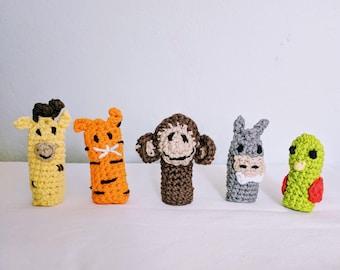 Finger Puppet, Crochet toy animals