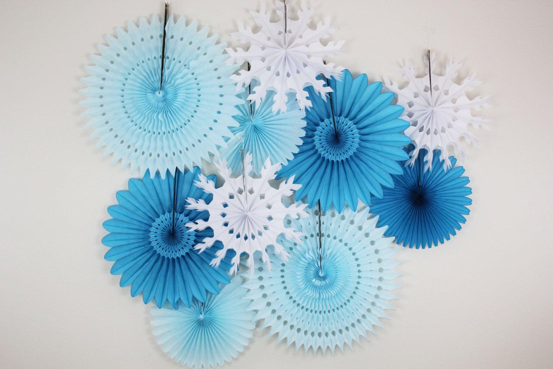 Birthday decorations tissue paper fans snowflake light zoom mightylinksfo