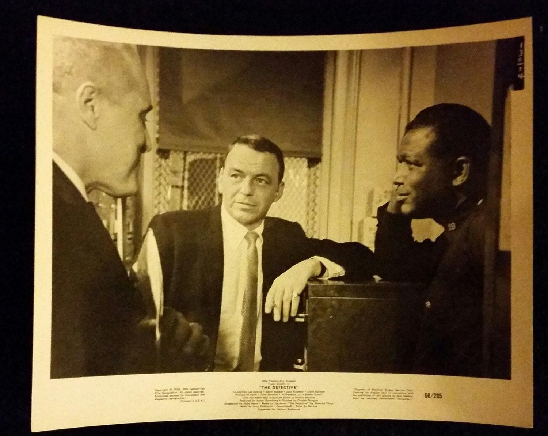 Original 1968 The Detective Frank Sinatra 8x10 Movie Photo