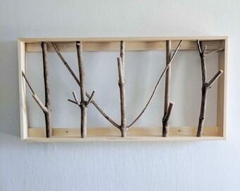 Framed branch hooks